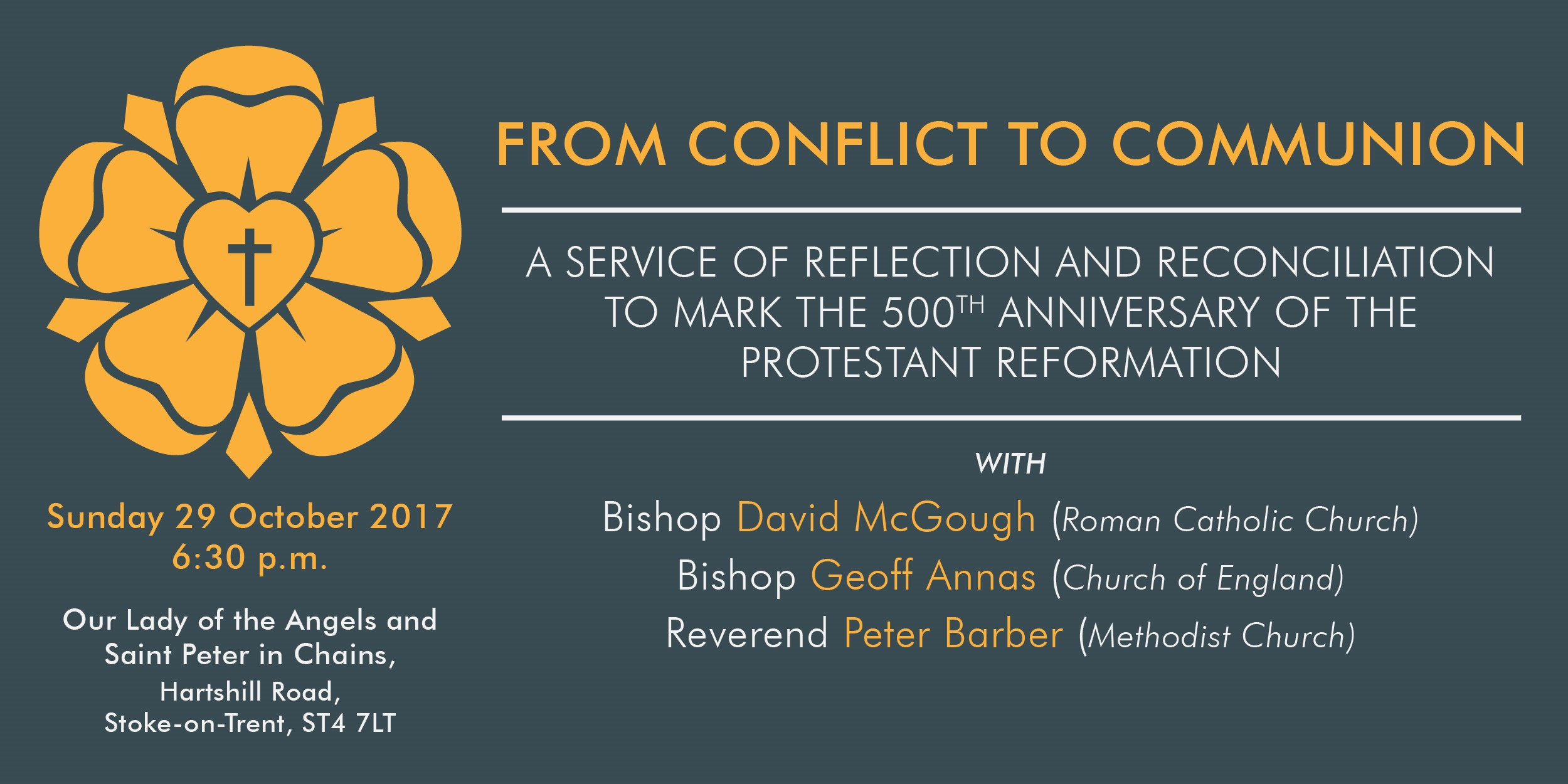 From conflict to  communion oct17